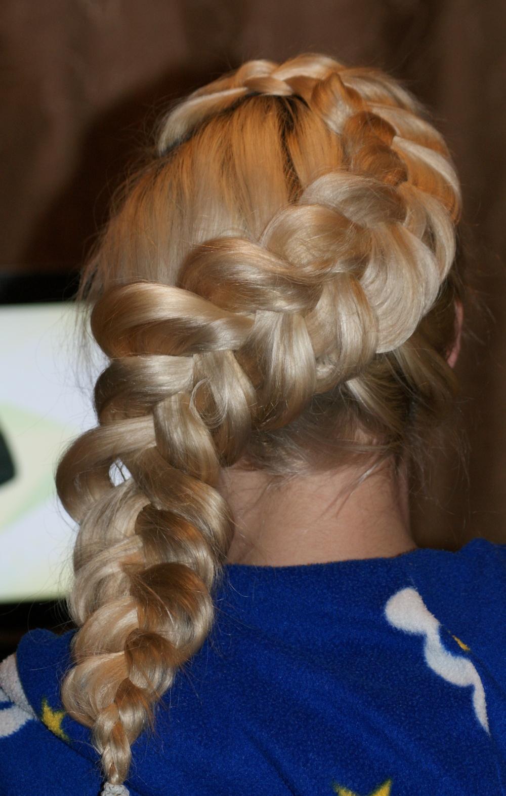 Причёски из касичек фото